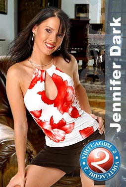 Jennifer Dark strips on your desktop